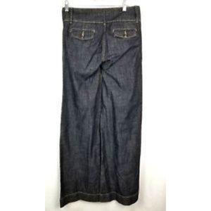 BCBG Maxazria Jeans - BCBG Maxazria junior women's blue flair jeans